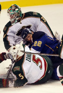 Minnesota Wild vs St. Louis Blues