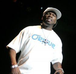 50 Cent performs in concert in Miami Beach