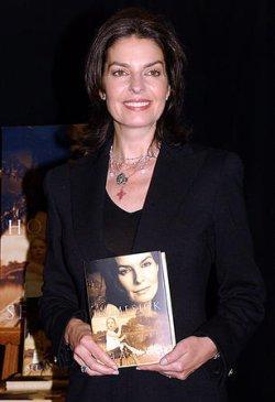 "Sela Ward promos new book ""Homesick: A Memoir"""