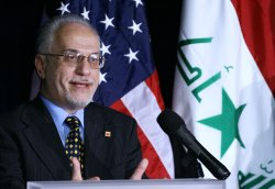 U.S. ENERGY DEPARTMENT SECRETARY HOLDS NEWS CONFERENCE WITH IRAQI MINISTERS OF OIL AND ELECTRICITY