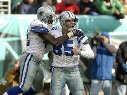 DALLAS COWBOYS AND PHILADELPHIA EAGLES IN NFL FOOTBALL