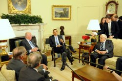 Obama holds nonproliferation meeting at White House