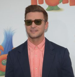 """Justin Timberlake attends the """"Trolls"""" premiere in Los Angeles"""
