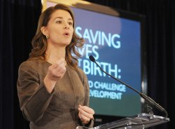 Melinda Gates, Hillary Clinton speak as USAID event in Washington
