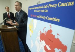 INTERNATIONAL PIRACY TOP FIVE COUNTRIES UNVEILED IN WASHINGTON