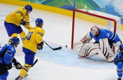 Sweden vs. Finland Men's Ice Hockey at 2010 Winter Olympics in Vancouver