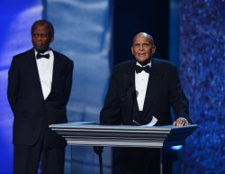 Harry Belafonte honored at the 44th NAACP Image Awards in Los Angeles