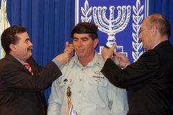 ISRAELI DEFENSE CHIEF CHANGE