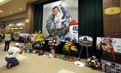 Memorial Service For Race Car Driver Dan Wheldon