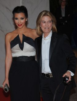 Kim Kardashian and Greta Van Susteren arrive at the White House Correspondents Dinner in Washington