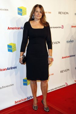 "Lorraine Bracco arrives at "" An Enduring Vision"" Elton John Aids Foundation Benefit in New York"