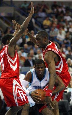 Houston Rockets vs New New Orleans Hornets in New Orleans