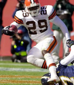 Cleveland Browns James Jackson runs for touchdown