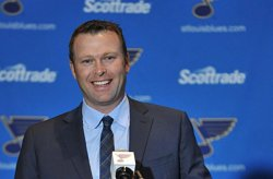 St. Louis Blues goaltender Martin Brodeur retires