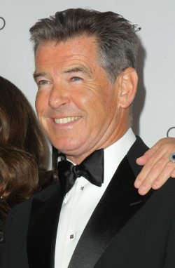 Pierce Brosnan attends the 40th Annual Chaplin Award Gala in New York