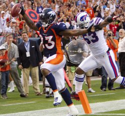 Denver Broncos Host the Buffalo Bills in Denver