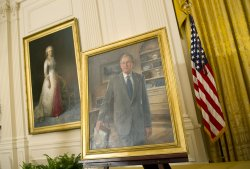 Former President George W. Bush White House portrait unveiling in Washington
