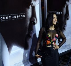 "Carla Ortiz attends the ""Concussion"" screening in Los Angeles"