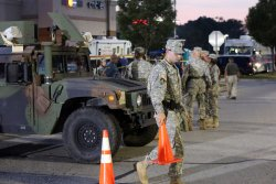 Police contine to deal with riots in Ferguson, Missouri