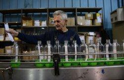Israelis Work In SodaStream Factory In West Bank