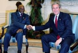 PRESIDENT OF SENEGAL VISITS THE WHITE HOUSE