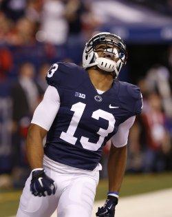Penn State Saeed Blacknall in the Big 10 Championship
