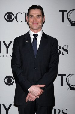 Billy Crudup arrives at the 2011 Tony Awards Meet the Nominees Press Reception in New York