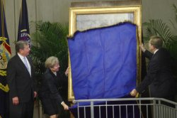 UNVEILING CEREMONY FOR THE OFFICIAL PORTRAIT OF FORMER ATTORNEY GENERAL JOHN ASHCROFT