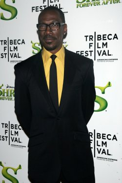 "Eddie Murphy arrives for the Tribeca Film Festival opening night premiere of ""Shrek Forever After"" in New York"