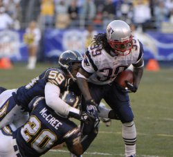 SAN DIEGO CHARGERS VS NEW ENGLAND PATRIOTS