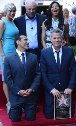 David Foster receives a star on the Hollywood Walk of Fame in Los Angeles