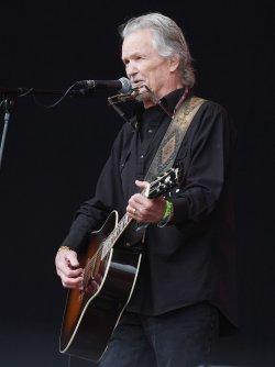 Kris Kristofferson performs at Glastonbury Festival