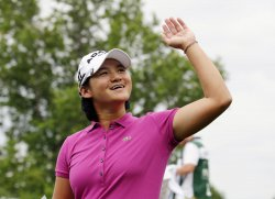Yani Tseng of Taiwan wins the Wegmans LPGA Championship at Locust Hill Country Club in New York