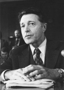 U.S. Defense Secretary Caspar Weinberger