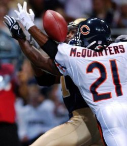 Chicago Bears vs St. Louis Rams pre-season football