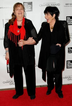 Tina Nina Minnelli and Liza Minnelli attend the 40th Annual Chaplin Award Gala in New York