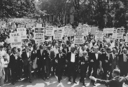 The Rev. Martin Luther King Jr.'s March on Washington