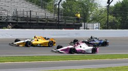 Carb day final practice for 100th Indy 500