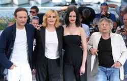 The team from D'Apres une histoire vraie attends the Cannes Film Festival