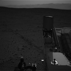 Image taken by Curiosity rover on Mars