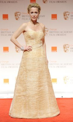 "Gillian Anderson attends the ""BAFTA"" ceremony in London"