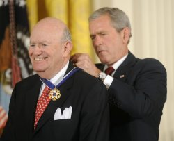 President Bush awards Medal of Freedom in Washington