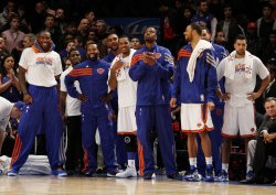 New York Knicks at Madison Square Garden in New York