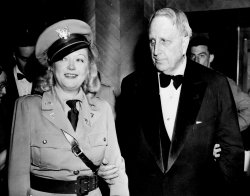 Publishing Magnate William Randolph Hearst with Marion Davies