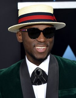 DJ Spinall attends the annual BET Awards in Los Angeles
