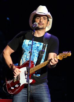 Brad Paisley performs in concert in Florida