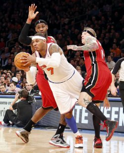 Knicks vs Heat at Madison Square Garden