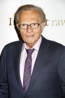 Larry King arrives for the Friars Club Roast of Betty White in New York
