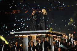 Madonna Performs at Halftime at the Super Bowl