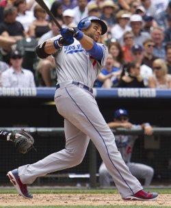 Colorado Rockies Host The Los Angeles Dodgers in Denver
